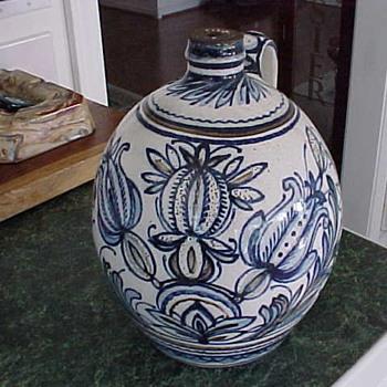 Stoneware Gouda Liquor Jug? - Pottery