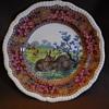 Copeland Late Spode Grazing Rabbits Plate Rd. No. 180288