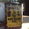 Early European Moco oil can