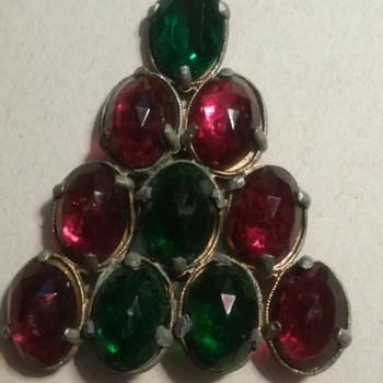 A Christmas tree  - Costume Jewelry