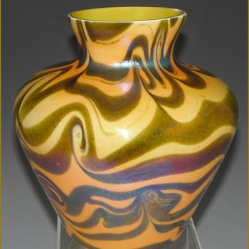Imperial Lead Lustre Vase - Imperial Glass Company, Bellaire, Ohio, 1925-26 - Art Glass