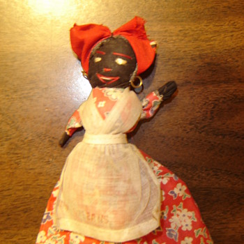 New Orleans Mammy Doll - Folk Art