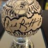Red Ruffing Autographed Fazzino Baseball