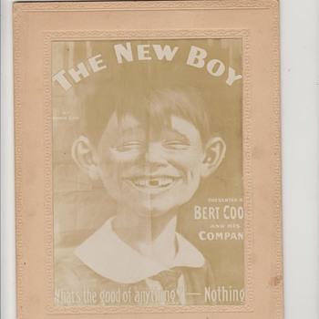 1894 Alfred E Neuman Cabinet Card - Photographs