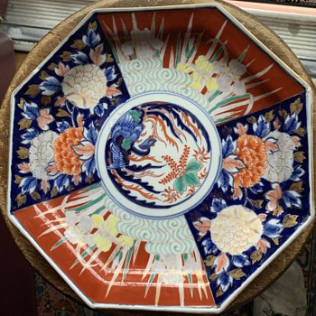 Imari Plate from the Flea Market today - Asian