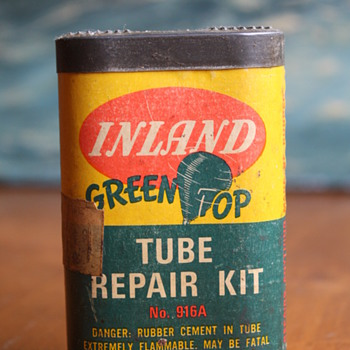 Inland Green Top Tube Repair Kit - Tools and Hardware