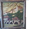 "E. Bucher Landscape/17"" x 20"" Oil on Canvas/ Unknown Date"
