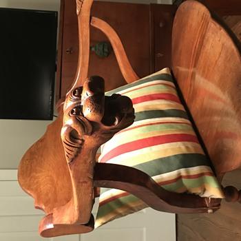 Lion's Head Arm Chair - Furniture