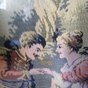 Help identify.  French tapestry - Sewing