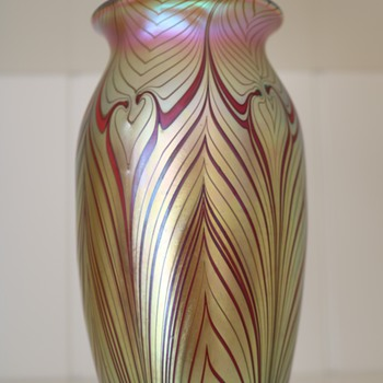 American Art Glass Vase - Art Glass