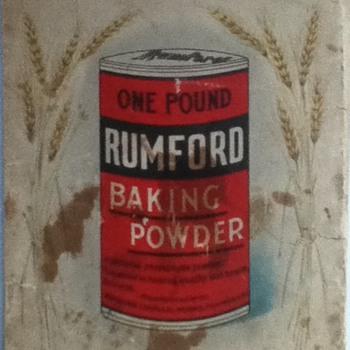 Vintage Rumford Baking Powder Recipe Book - Kitchen
