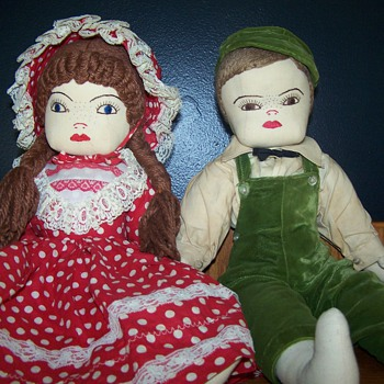 Homemade dolls  - Dolls