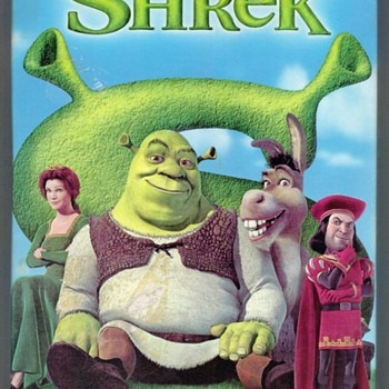 "2001 - ""SHREK"" Children's VHS Tape"