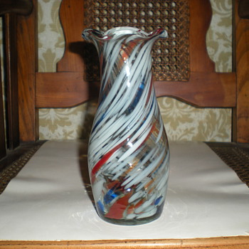 Welz Red White & Blue? - Art Glass
