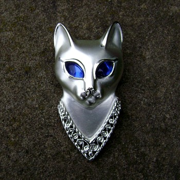 AJC Egyptian Cat Brooch - Animals