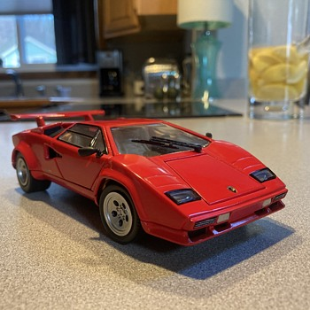 Franklin Mint 1985 Lamborghini Countach 5000 S - Model Cars