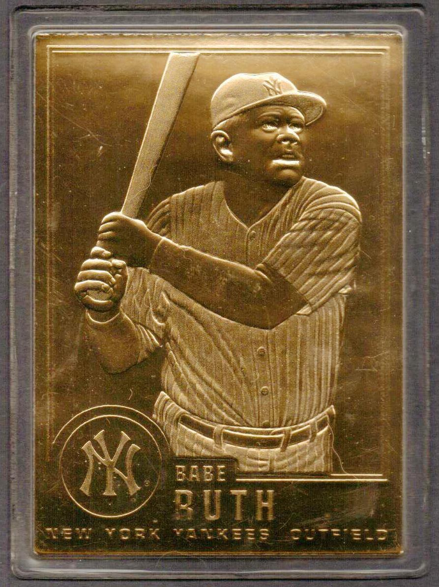 1996 - Babe Ruth Gold Card | Collectors Weekly