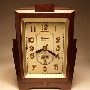 "Kenmore Model 906 ""Dowling"" Shelf Clock - Art Deco"