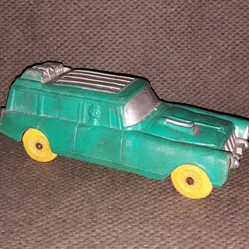 Another Auburn A Sation Wagon This Time 1950s - Model Cars