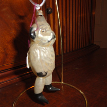 Bear ornament with annealed legs - Christmas