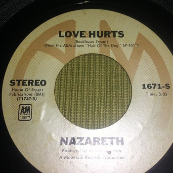 Nazareth...On 45 RPM Vinyl - Records