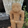 Large Carved Stone Figure from Costa Rica with BIG TEETH!