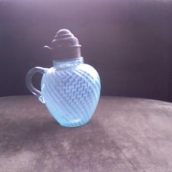 blue swirled glass ...? - Glassware