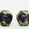 Two small vases from Roskilde Pottery (Denmark), 1917-1921