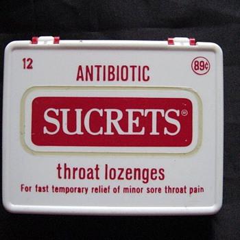 Sucrets w/antibiotics?? - Advertising