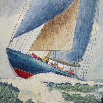 Nautical Painting - Fine Art