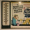 PBR thermometer - Man in porch swing