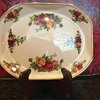 Royal Albert Old Country Roses unusual back stamp
