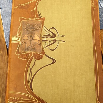 Art noveau presented in a beautiful book cover. Post 1 of 2. - Art Nouveau