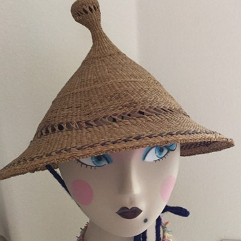Antique Straw Sun Hats - Hats