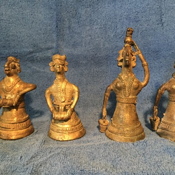 Dhokra Lost Wax figures?  - Folk Art