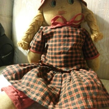 Rag doll from childhood