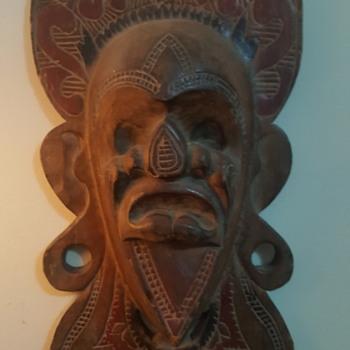 antique wooden masks - Fine Art