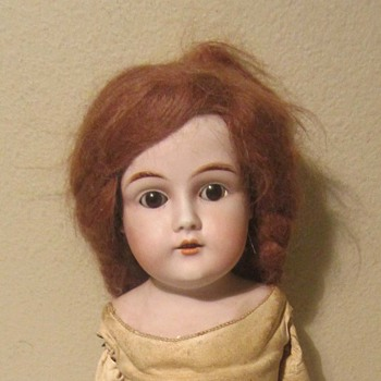 Unknown German Bisque Shoulderhead doll - Dolls