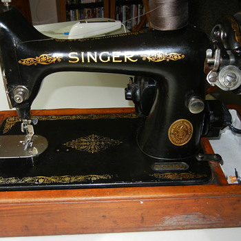 My old Singer - Sewing