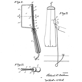 Patent for CREASING APPARATUS Filed NOV. 24 1935  - Tools and Hardware
