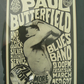 Vintage Concert Posters, Part 3 of 3 - Music Memorabilia