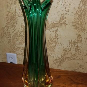 Vase.  Murano? - Art Glass