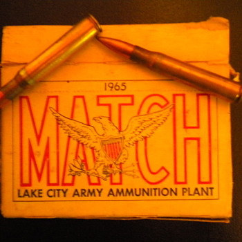 30 cal bullets - Military and Wartime