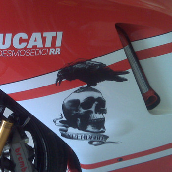 "Ducati Desmo from the movie ""THE EXPENDABLES"""
