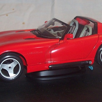 Dodge Viper die cast model! - Model Cars