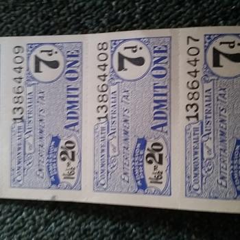 Tickets - Paper