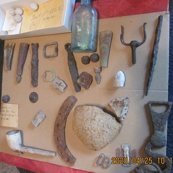 Civil War Relics Located in the 1990s in the Eastern US. - Military and Wartime