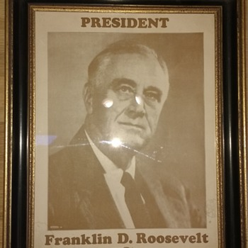 Franklin D. Roosevelt Picture / FDR Poster ?
