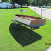 acquired 12 foot wooden fishing boat