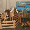 Jane West Thunderbolt Thundercolt Corral Fence Combo Set 1966